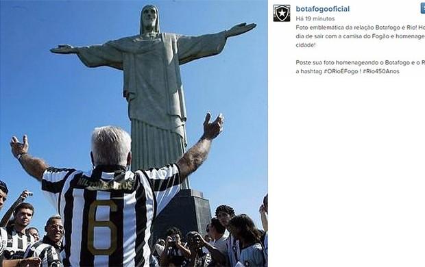Botafogo homenagem ao Rio no Instagram