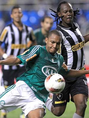 Patrik e Andrezinho, Botafogo x Palmeiras (Foto: Agência EFE)
