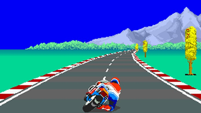 Apesar de usar motos ao invés de carros, Hang-On partilha muitos conceitos com Horizon Chase (Foto: Reprodução/Wikipedia)