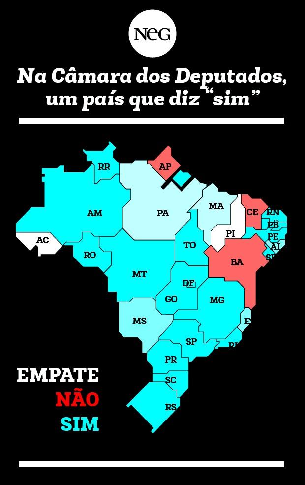 grafico_estados_cores (Foto: Época NEGÓCIOS)