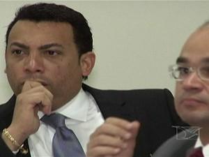 Depoimento do advogado Ronaldo Ribeiro (Foto: Reprodução/TV Mirante)