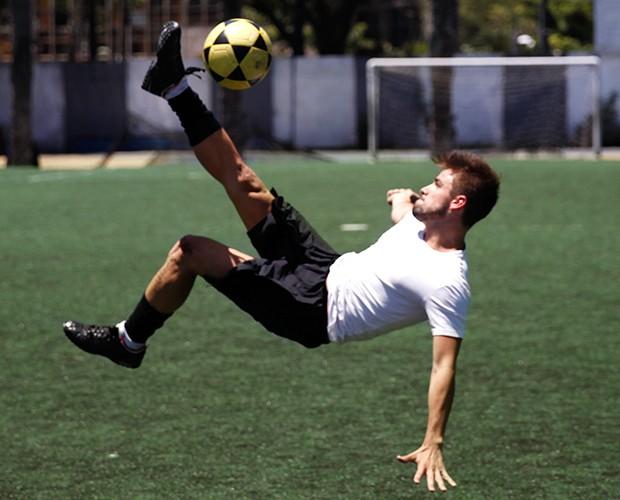 O brother jogou futebol profissional (Foto: Leonardo Viso/Gshow)