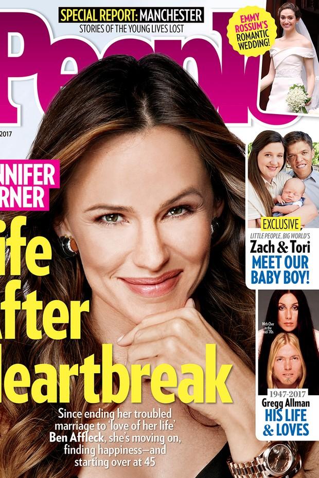 Jennifer Garner na capa da People (Foto: Reprodução)