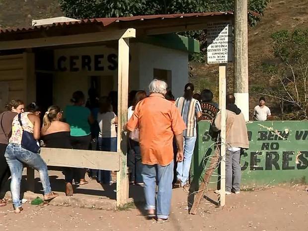 parentes ceresp juiz de fora (Foto: Reprodução/TV Integração)