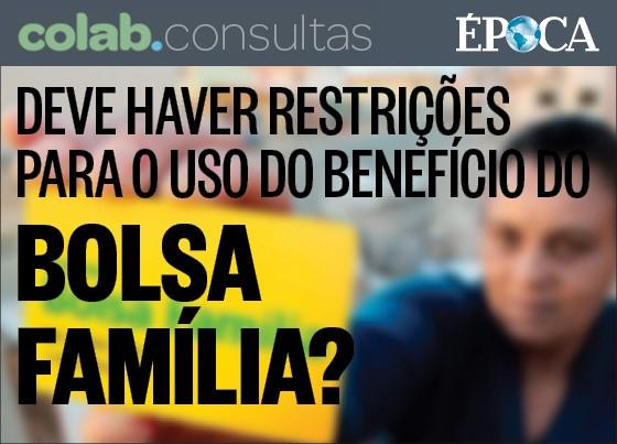 Pesquisa do Colab.re com ÉPOCA sobre o Bolsa Família (Foto: Divulgação)