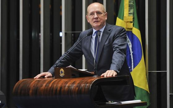 O senador Paulo Bauer (Foto: Jefferson Rudy/Agência Senado)