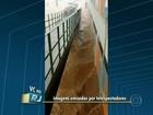 Rio tem chuva de granizo e volta a entrar em estágio de atenção