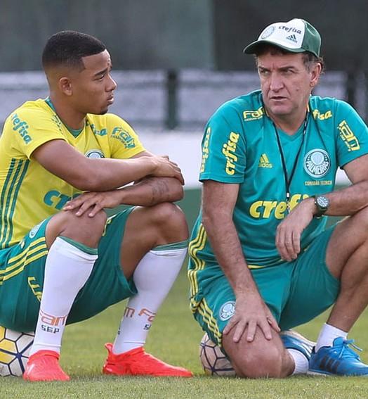 """""""vale ouro"""" (Fabio Menotti/Ag Palmeiras/Divulgação)"""