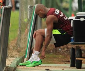 figueirense  thiago heleno (Foto: Luiz Henrique / FFC)