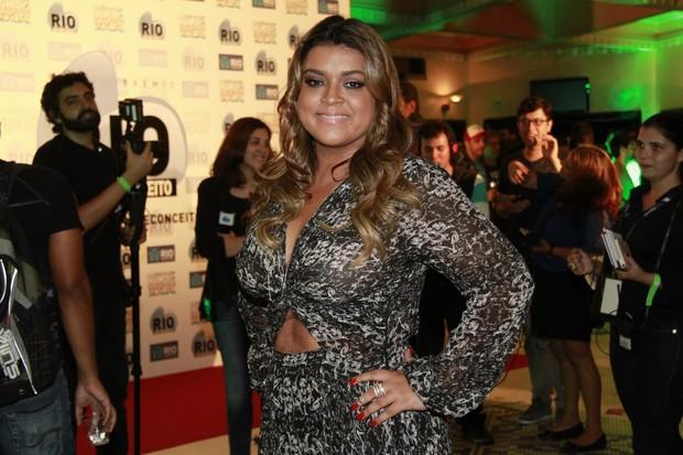 Preta Gil em prêmio no Rio (Foto: Isac Luz/EGO)