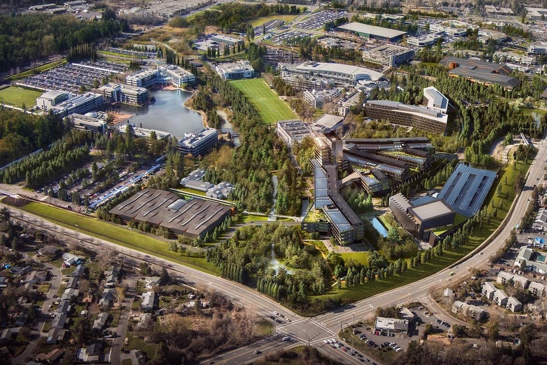 A nova sede da Nike, no Oregon, EUA. (Foto: Divulgação)