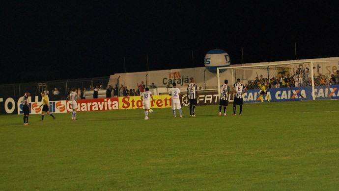 Treze x Águia, Presidente Vargas (Foto: Silas Batista / GloboEsporte.com)