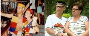 Casal se conheceu  no carnaval e já está junto há 4 décadas (Reprodução/ EPTV)