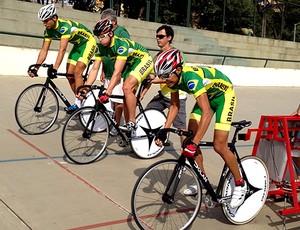equipe brasileira ciclismo (Foto: Divulgação / CBC)