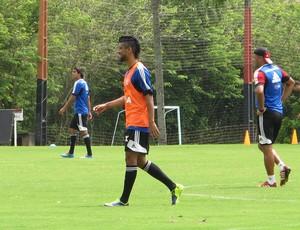 Leo Moura treino Flamengo (Foto: Richard Souza)