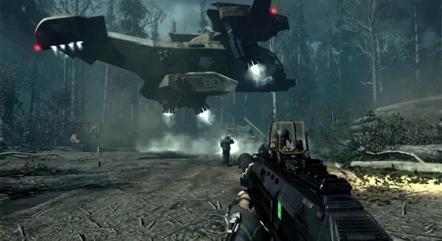 Armas de novo 'Call of Duty' são futuristas (Foto: Divulgação/Activision)