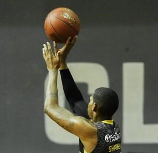 Shamell, Flamengo x Mogi, NBB (Foto: Bruno Lorenzo/LNB)