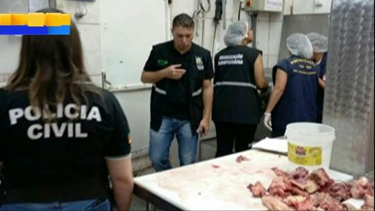 Operação apreende mais de 5 ton de carnes impróprias ao consumo no RS