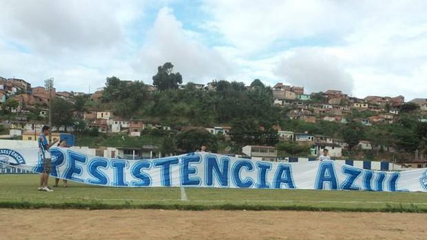 MOVIMENTO RESISTÊNCIA AZUL (Foto: Divulgação / Movimento Resistência Azul)