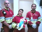 Bebê nasce na BR-163 com ajuda de socorristas de concessionária em MS