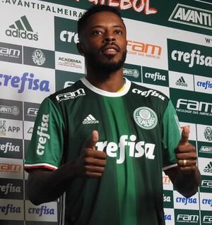 Michel Bastos Palmeiras (Foto: Tossirro Neto)