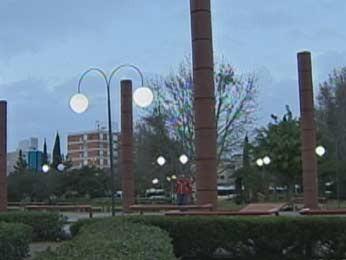Porto Alegre amanheceu com frio e tempo seco nesta sexta-feira (19) (Foto: Reprodução/RBS TV)