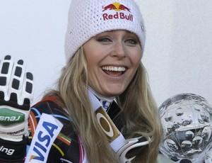 esqui Lindsey Vonn Copa do Mundo de Schladming (Foto: Reuters)