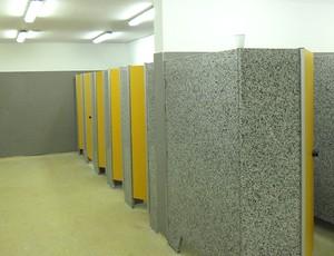 obras Maracanã banheiro (Foto: Globoesporte.com)