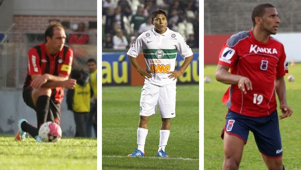 Globo Esporte Paraná (Foto: Divulgação/ Site Oficial CAP / Site Oficial Coritiba / Rodrigo Arend/Site Oficial Paraná )