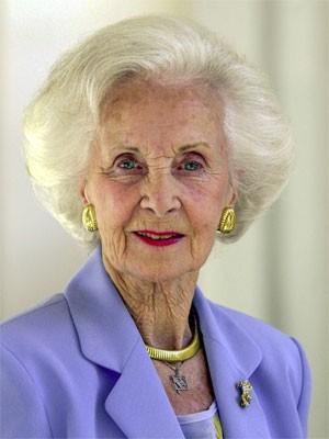 Princesa Lilian, da Suécia, morreu neste domingo em Estocolmo, aos 97 anos (Foto: Henrik Montgomery/Scanpix/Reuters)