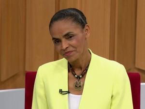 BDBR - Marina Silva BDBR (Foto: Rede Globo)
