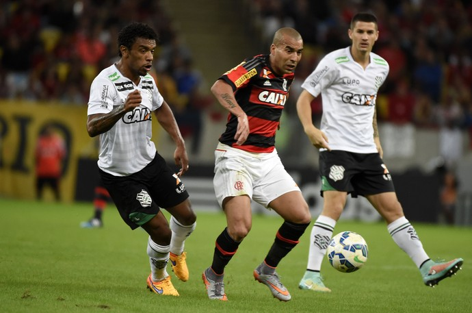 Emerson Flamengo x Figueirense Maracanã (Foto: André Durão)