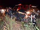 Batida entre caminhão e carro deixa homem gravemente ferido na Bahia