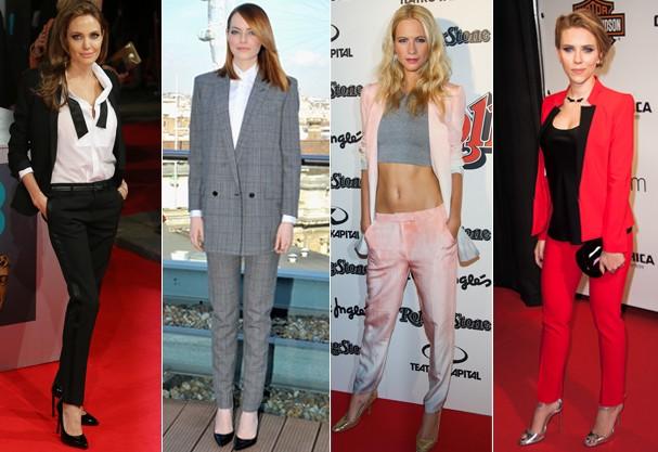 "Oito maneiras superfemininas e zero ""boring"" de usar terninhos e blazers"
