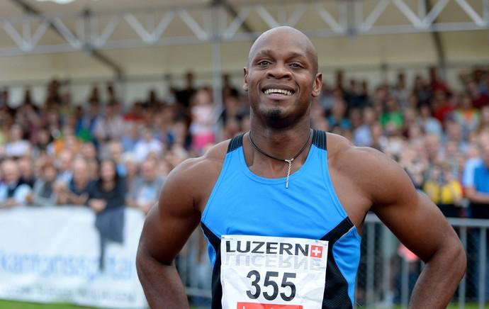 Asafa Powell, atletismo, Suíça (Foto: EFE)