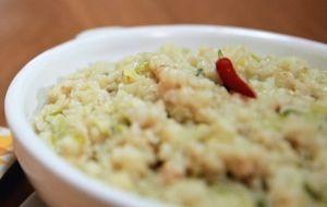 Risoto de couve-flor com alho-poró: receita da Bela Gil