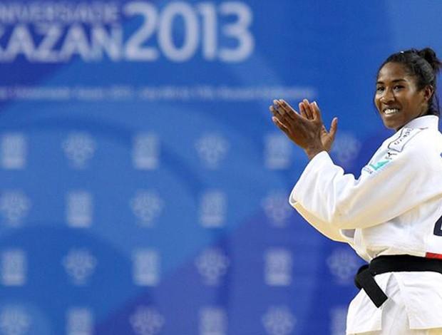 Ketleyn Quadros judo (Foto: CBDU Brasil)