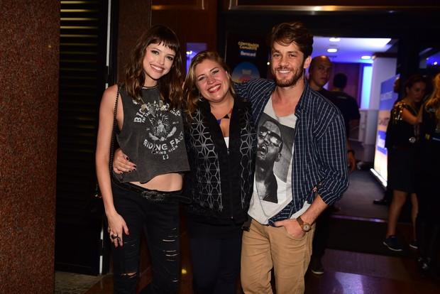 Agatha Moreira e Leonardo Miggiorin vão ao show dos Rolling Stones (Foto: AgNews)