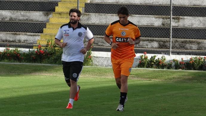 Romano, lateral do ASA (Foto: Leonardo Freire/GloboEsporte.com)