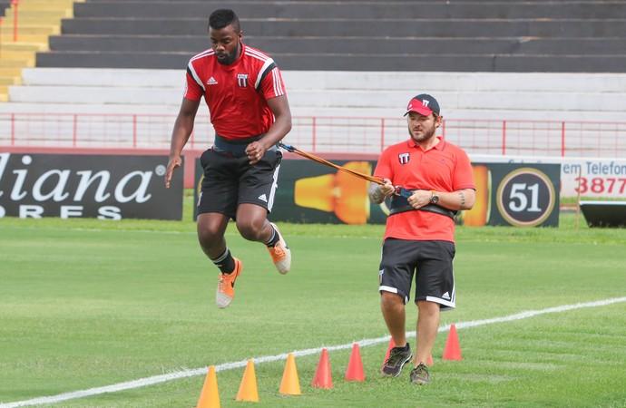 Andrey, goleiro do Botafogo-SP (Foto: Rogério Moroti/Ag. Botafogo)