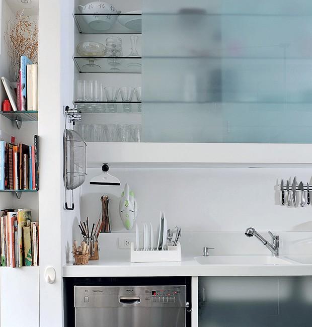 Armarios De Cozinha De Vidro : Decora??o de cozinha confira seis projetos e escolha a