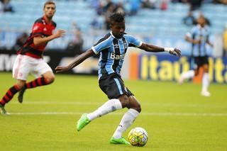 Grêmio x Flamengo, Miller Bolaños, atacante (Foto: Lucas Uebel/Grêmio/Divulgação)