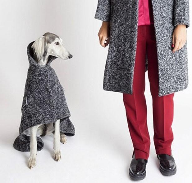 Temellini Milano vende linha de roupas para mulheres e cachorros (Foto: Reprodução Facebook)