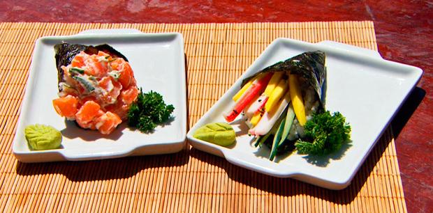 Temaki foi a receita da Hora do Rancho (Foto: Reprodução /Terra da Gente)