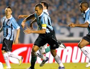Gilberto Silva na partida do Grêmio contra o Palmeiras (Foto: Jefferson Bernardes / Vipcomm)