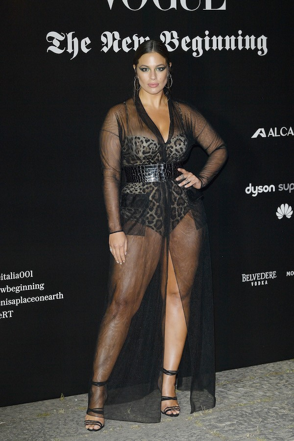 A modelo Ashley Graham (Foto: Getty Images)