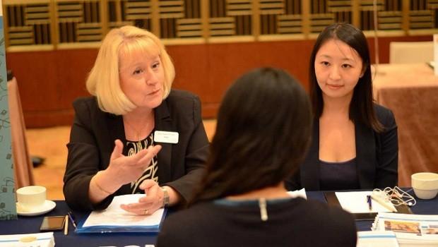 Feiras de recrutamento realizadas pela QS para quem deseja fazer uma especialização no exterior (Foto: Divulgação)
