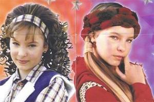 Belinda interpretou gêmeas separadas no nascimento (Foto: Reprodução)