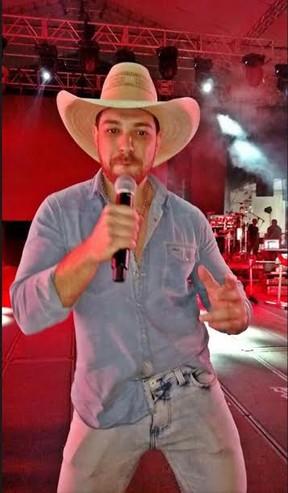 Ex-BBB Cézar Lima lança música em Barretos (Foto: Divulgação)