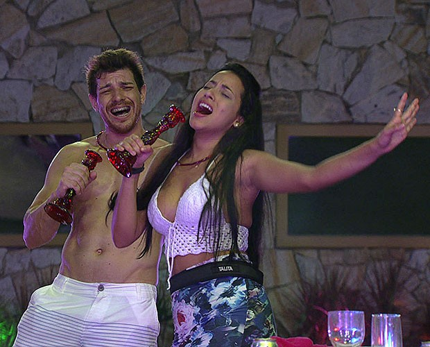 Cantoria Cantina BBB 11 (Foto: BBB/Gshow)
